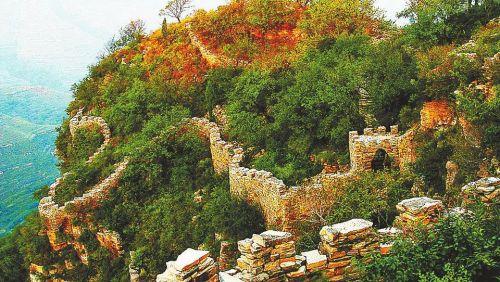 淄川西石村风景图片