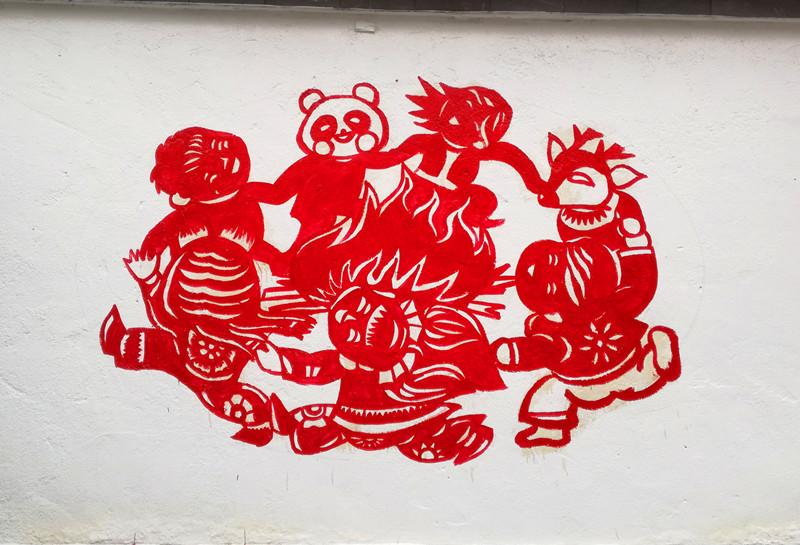 绿色环保为主题,将社会主义核心价值观,中国梦,反映齐文化的蹴鞠娃等