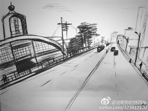 或者自己手绘的城市图片,从昔日的黑白照片到现在的数码彩照,从原来